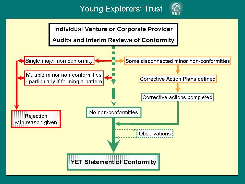 Individual Venture Evaluation Flow Chart