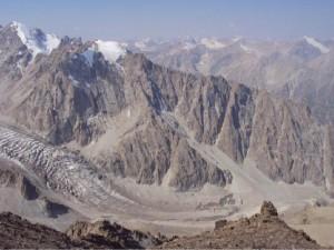 Uchitel Peak in Kyrgyzstan