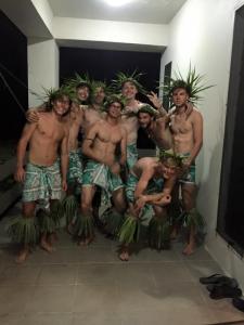 Traditional dance crew!