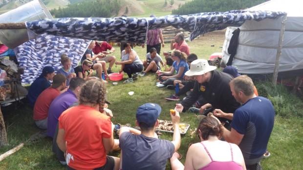 The Nomadic family BBQ